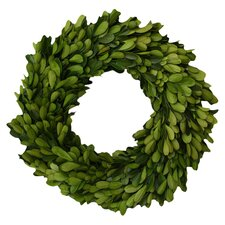 Boxwood Single Side Wreath (Set of 2)