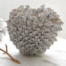 Round Barnacle Ceramic Vase