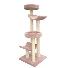 "66"" Bed and Cradle Cat Tree"