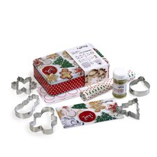 8 Piece Christmas Cookie Cutter Set
