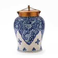 Large Decorative Urn with Lid