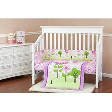 Spring Garden 3 PieceCrib Bedding Set
