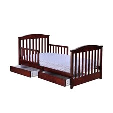 Mission Toddler Bed with Storage
