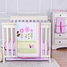 Baby Owl Portable 5 Piece Crib Bedding Set