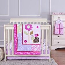 Spring Time Portable 5 Piece Crib Bedding Set