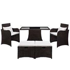 Artesia 5 Piece Deep Seating Group with Cushions