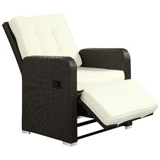 Commence Deep Seating Recliner Chair with Cushions