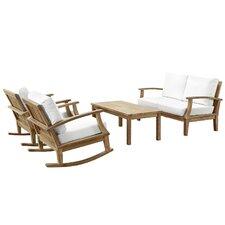 Marina 4 Piece Seating Group with Cushion