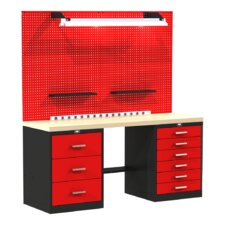 Fort Knox Basic Modular Wood Top Workbench
