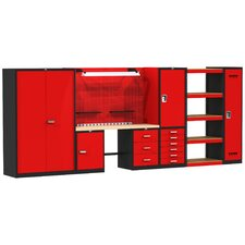 Fort Knox Complete Modular Wood Top Workbench
