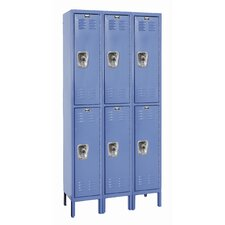 ReadyBuilt 2 Tier 3 Wide School Locker