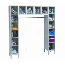 Safety-View 6 Tier Box Locker