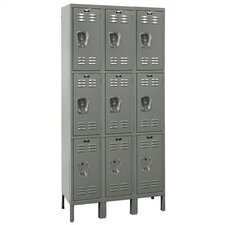 Premium 3 Tier 3 Wide Traditional Locker