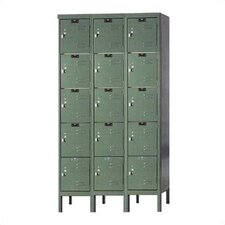Premium 5 Tier 3 Wide Traditional Locker