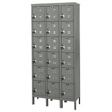 ReadyBuilt 6 Tier 3 Wide Contemporary Locker