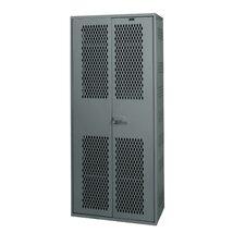 Welded 1 Tier 1 Wide Equipment Storage Locker