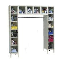 Safety-View 1 Wide Plus 16-Person Locker
