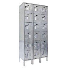 304 Series 6 Tier 3 Wide School Locker