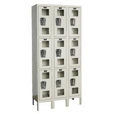 Safety-View 3 Tier 3 Wide Box Locker