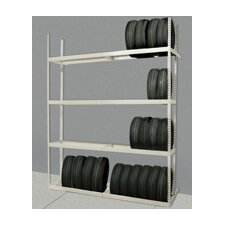 "Rivetwell Tire Storage 144"" H 5 Shelf Shelving Unit Add-on"
