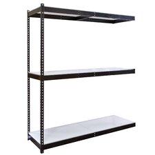Rivetwell Double Rivet Boltless Knock-Down 3 Shelf Shelving Unit Add-on