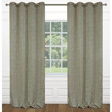 Raindrops Floral Grommet Curtain Panels (Set of 2)