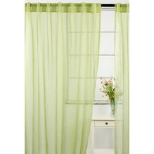Whisper Sheer Rod Pocket Curtain Panels (Set of 2)