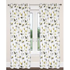 Preston Leaf Curtain Panel (Set of 2)