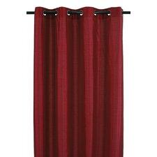 Vegas Lined Faux Silk Grommet Curtain Panel (Set of 2)