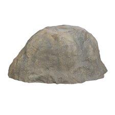 Sitting Boulder Cover Rock Statue