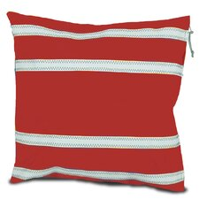 Nautical Stripe Casual Throw Pillow