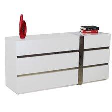 Cristallino 6 Drawer Dresser