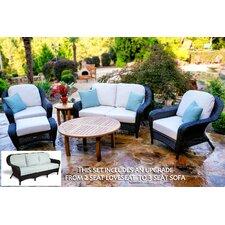 Lexington Sofa 6 Piece Deep Seating Group with Cushion