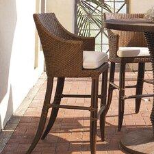 """Outdoor Palm Beach 31.5"""" Bar Stool with Cushion"""