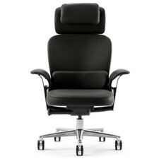 Leap® WorkLounge Leather Executive Chair
