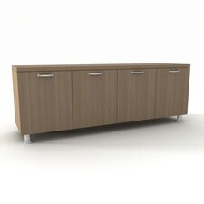 "Currency 4 Drawer  60"" Credenza"