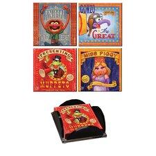 Muppets Glass Print Coaster (Set of 4)