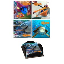 Finding Nemo Glass Print Coaster (Set of 4)