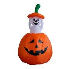 Halloween Inflatable Pumpkin Ghost Decoration