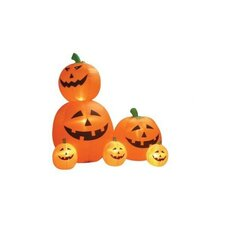Halloween Inflatable Animated Pumpkins Decoration