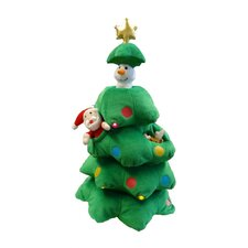 Singing Christmas Tree Musical Plush Toy with Motion