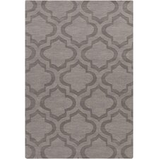 Central Park Charcoal Geometric Zara Area Rug