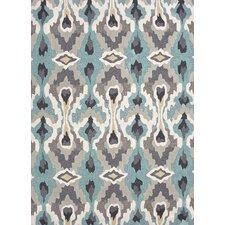 Brio Hand-Tufted Blue/Ivory Area Rug
