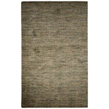 Alton Hand-Loomed Green/Brown Area Rug
