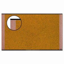 Wall Mounted Bulletin Board, 3' x 4'