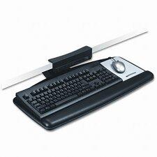 Tool-Free Install Knob Adjust Keyboard Tray, Standard Platform