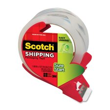 Scotch Sure Start Packaging Tape with Dispenser