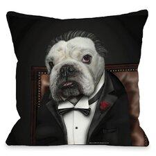 Pets Rock Dog Barker Throw Pillow