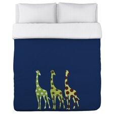 Sports Giraffes Lightweight Duvet Cover