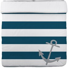 Striped Anchor Duvet Cover